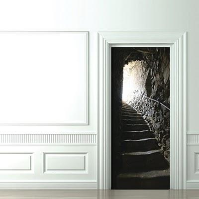 8 Cool и Creative 3D двери Стикеры (8) 5