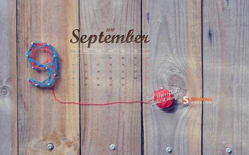 Tension9 in Desktop Wallpaper Calendar: September 2010