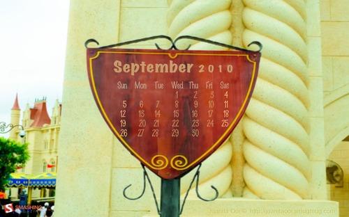 Far-far-away in Desktop Wallpaper Calendar: September 2010