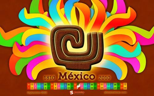 Mexico18102010 in Desktop Wallpaper Calendar: September 2010