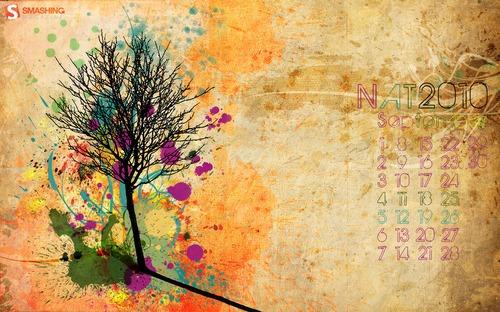 Nat in Desktop Wallpaper Calendar: September 2010