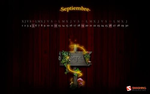 Tale in Desktop Wallpaper Calendar: September 2010
