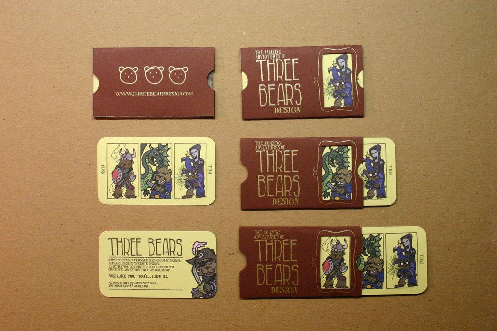 uncategorized  Коллекция визиток в стиле винтаж
