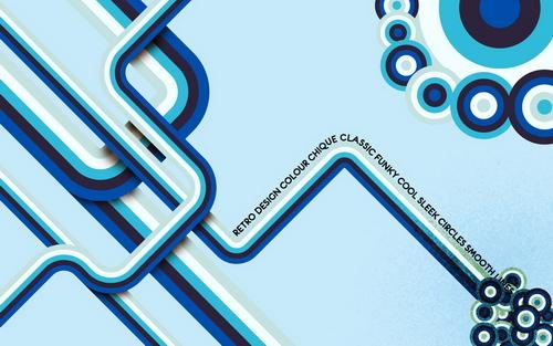 grafika i dizayn  Ретро обои для рабочего стола: часть 1