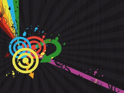 grafika i dizayn  Ретро обои для рабочего стола: часть 2