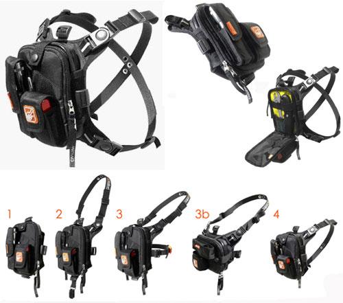Тайное Escape RG Сумки Harness System