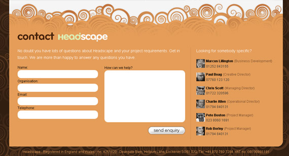 headscape-inspiring-creative-contact-form
