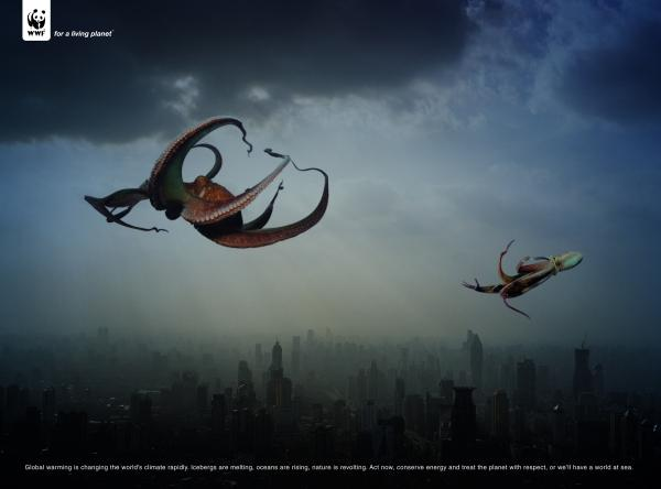 GIANT SQUID, BRAND DAVID, Print, Outdoor, Ads