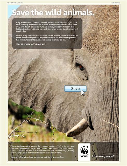 priroda  Фотопост: рекламная кампания WWF (часть 4)