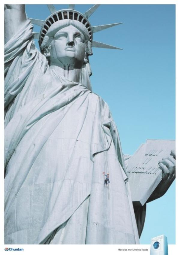 STATUE OF LIBERTY, WASHING MACHINE, OGILVY & MATHER ADVERTISING, CHUNLAN, Печатная реклама