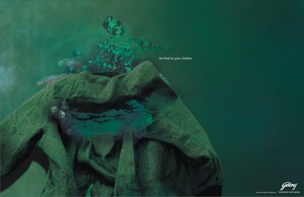 Godrej Washing Machines: Be kind to your clothes, Viscomm, GODREJ, Печатная реклама