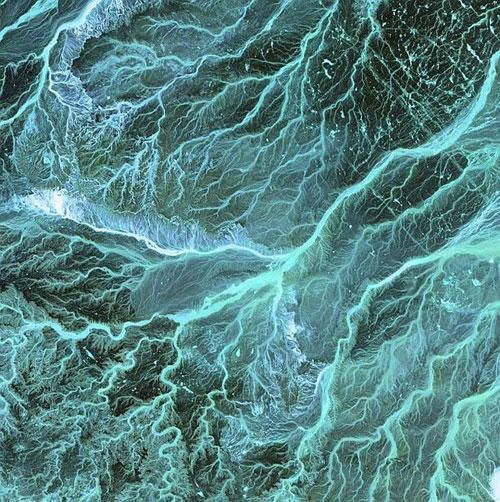 Иордания спутниковое фото