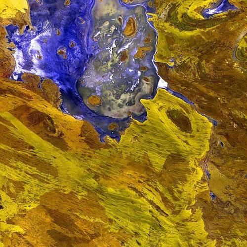 Озеро Разочарование - Австралия спутниковое фото