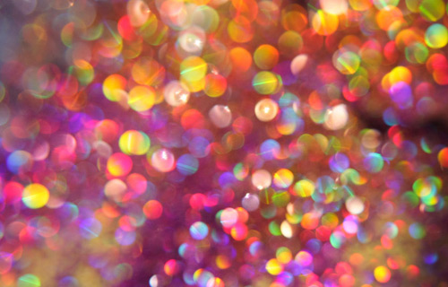 colorful bokeh texture
