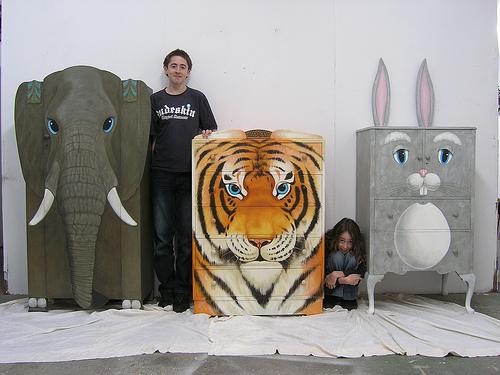 grafika i dizayn  Необычная мебель в виде животных
