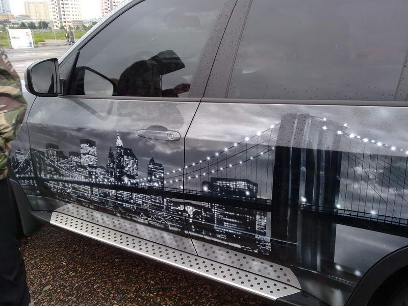 С 29 граффити автомобили России