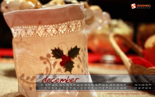 Holly Light 47 in Desktop Wallpaper Calendar: December 2010