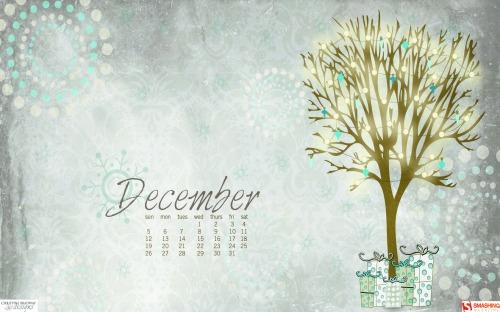 December Dream 52 in Desktop Wallpaper Calendar: December 2010