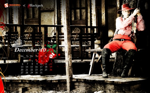 Westxmas 74 in Desktop Wallpaper Calendar: December 2010