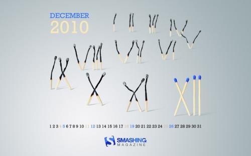 Burneout 2010 47 in Desktop Wallpaper Calendar: December 2010
