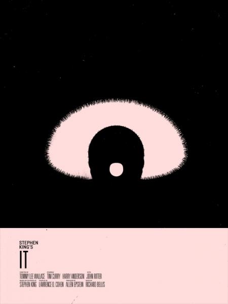 grafika i dizayn  Минималистические постеры к фильмам и книгам Стивена Кинга