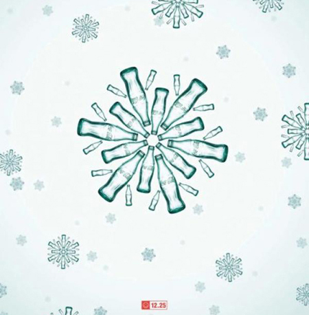 grafika i dizayn  Новогодняя реклама