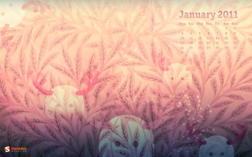 Hazy Dawn 4 in Desktop Wallpaper Calendar: January 2011