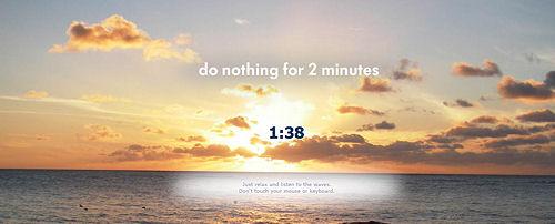 internet  Сайт для того, чтобы отдохнуть ровно две минуты