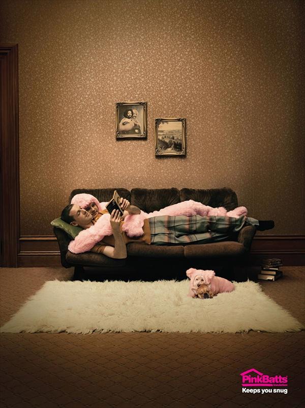рекламные принты PinkBatts