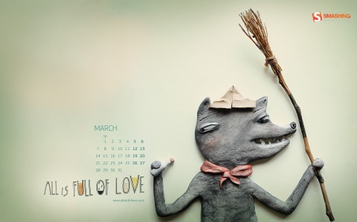 Allisfulloflove 88 in Desktop Wallpaper Calendar: March 2011