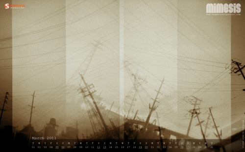Mimesis 45 in Desktop Wallpaper Calendar: March 2011