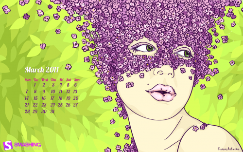 Breath Of Spring 20 in Desktop Wallpaper Calendar: March 2011