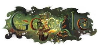 grafika i dizayn  Лучшие праздничные логотипы Google: часть первая