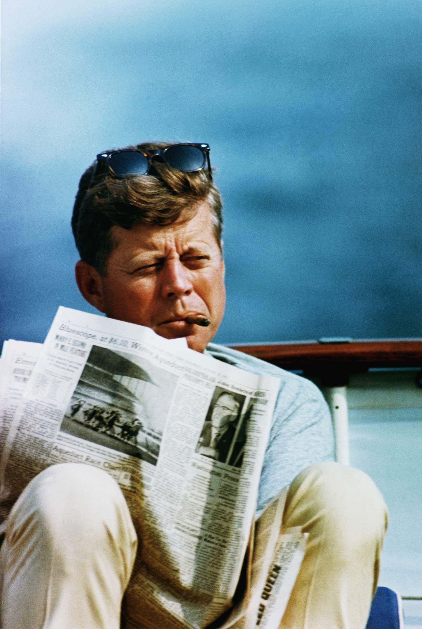 interesnyie faktyi  Кубинские сигары для Кеннеди