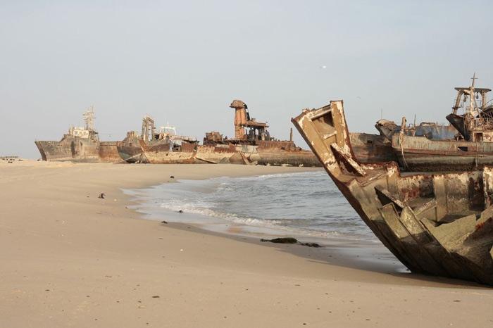 mir  Нуадибу   город погибших кораблей