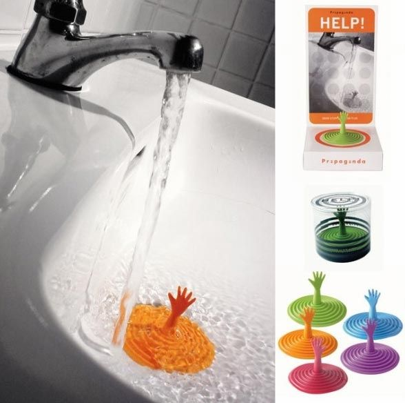 grafika i dizayn  Необычные пробки для ванны
