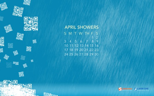April 14 in Desktop Wallpaper Calendar: April 2011