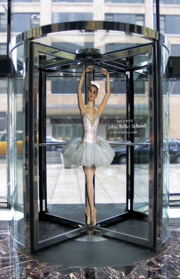 Ballet School: BALLERINA Наружная реклама