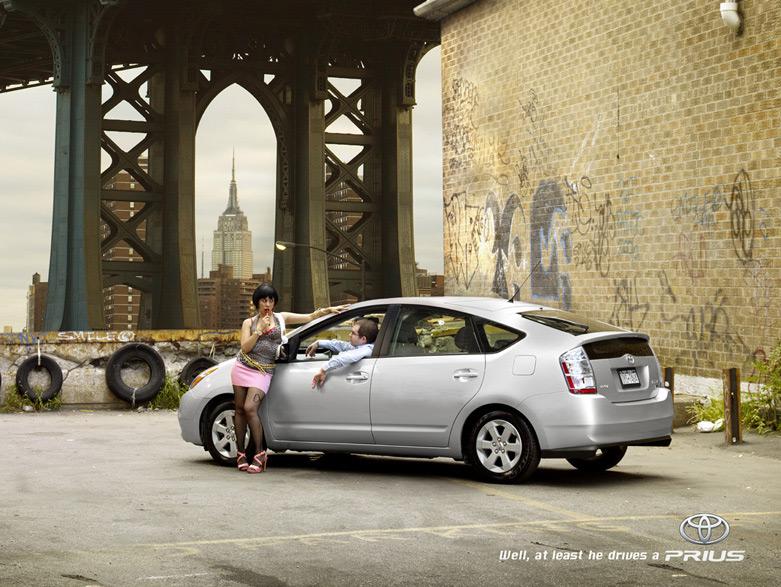 Toyota Prius: Проститутка