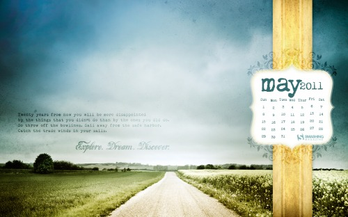 Edd 7 in Desktop Wallpaper Calendar: May 2011