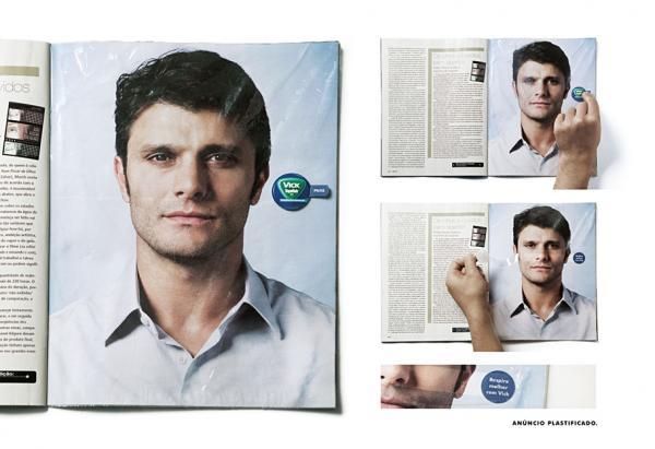 Vicks VapoRub: Ziplock plastic bag, VICKS VAPORUB, Publicis  Brasil, VICKS, Печатная реклама