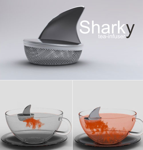 grafika i dizayn  Акулий дизайн