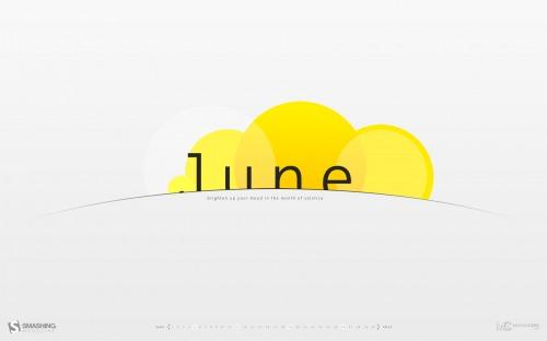 Sunrising 94 in Desktop Wallpaper Calendar: June 2011