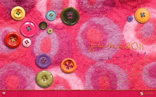 Fancy Schmancy 72 in Desktop Wallpaper Calendar: June 2011