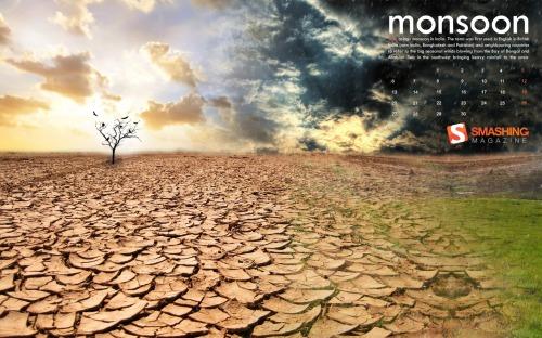 Monsoon 51 in Desktop Wallpaper Calendar: June 2011