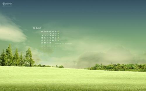Serenity 43 in Desktop Wallpaper Calendar: June 2011
