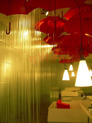 Удивительное искусство Umbrella