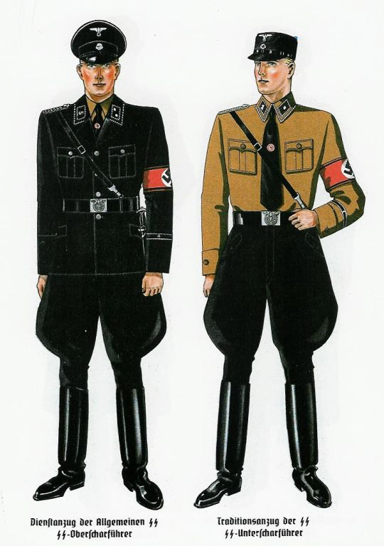 interesnyie faktyi  Нацистский шик от кутюр