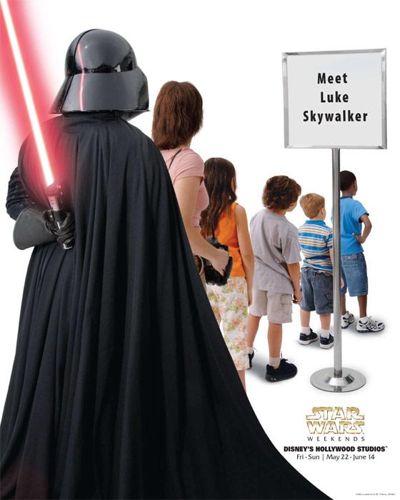 reklama 2  Звездные войны в парке Disney