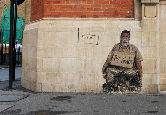 iskusstvo  Бездомный стрит арт